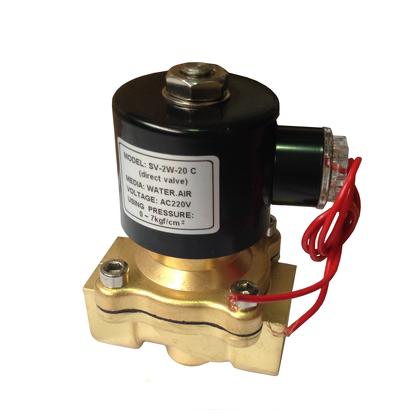 "Соленоидный клапан прямого действия SV-2W-15k N/O 1/2"" (латунь)"