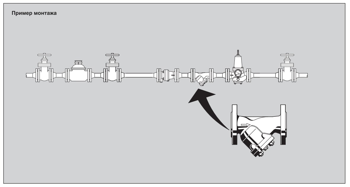 Пример монтажа FY71P